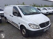 Used positive trailer body refrigerated van Mercedes Vito 109 CDI