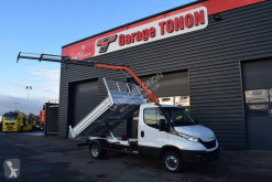 Utilitaire benne standard Iveco Daily 35-160 BENNE ALU JPM + GRUE ATLAS