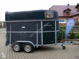 Remorque légère Schmidt Vollpoly 2 Pferde mit Sattelkammer