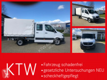 Mercedes curtainside van