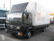 Camion benne occasion MAN L2000, Typ 8.163 Pritsche -Plane 6,20 Meter