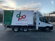 Iveco negative trailer body refrigerated van Daily 35C18