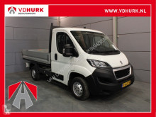 Peugeot flatbed van Boxer € 182,- p/m* 333 2.0 131 pk Pick Up TOPPER! Open Laadbak/Airco/Trekhaak