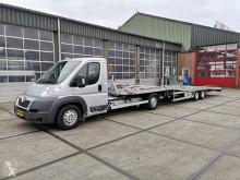 Tweedehands takelwagen Peugeot Boxer 2.2 HDI + TIJHOF Autotransporter