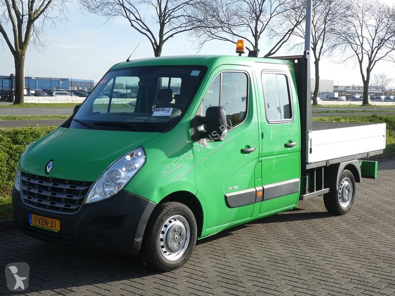 Bilder ansehen Renault Master 2.3 dci 125 dubbel cabin Transporter/Leicht-LKW