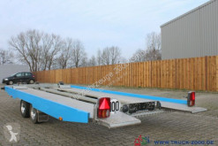 WM Meyer WM EG-KHL 3000 ALU + Hydraulik + Seilwinde 1. Hd trailer used flatbed
