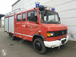 Furgoneta Mercedes 814 D LF 8/6 4x2 D LF 8/6 4x2, DOKA, Feuerwehr ambulancia usada