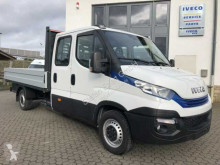 Iveco Daily 35 S 14 G A8 DoKa Erdgas+Klima+AHK used dropside flatbed van