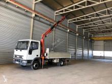 vrachtwagen platte bak boorden Iveco