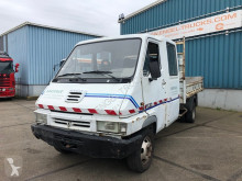 Tweedehands open bakwagen Renault B80 FULL STEEL KIPPER WITH DOUBLE CABIN B80