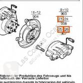 Furgoneta repuestos otras piezas Iveco Daily Étrier de frein pour véhicule utilitaire II 35 C 12
