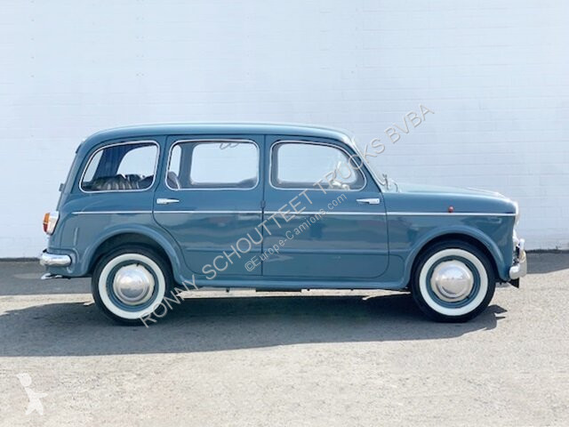 Voir les photos Véhicule utilitaire Fiat Fiat 1100 N Familiare Fiat 1100 N Familiare