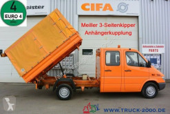 Ribaltabile trilaterale Mercedes Sprinter 308 CDI Meiller 6 Sitze Klima TüV neu