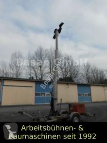 Material de obra Lichtmast Beleuchtungsanlage Schmid FG 100 LM torre de iluminación usado