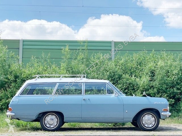 Voir les photos Véhicule utilitaire Opel Rekord C2 Caravan 1700 mit Wohnwagen Rekord C2 Caravan 1700 mit Wohnwagen