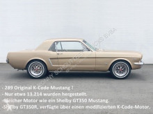 Ford coupé car Mustang 289 Coupe K-Code 289 Coupe K-Code