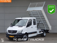 Tweedehands open bakwagen Mercedes Sprinter 513 CDI Kipper 3500kg trekhaak Airco Tipper A/C Double cabin Towbar