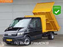 Used tipper van MAN TGE 2.0 TDI 180PK Kipper Dubbellucht Alle opties!! Navi Leder Camera 1m3 A/C Towbar Cruise control