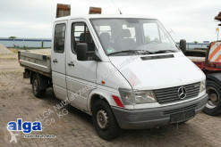 Mercedes dropside flatbed van 308 D Sprinter, DOKA, 2.700mm lang, Kugel-AHK