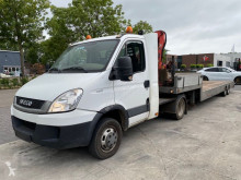 Iveco tow van Daily 40C17 + 2 AS TRAILER MET FERRARI F520 A1