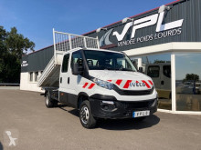 Utilitaire benne occasion Iveco Daily CCB 35C14D BENNE DOUBLE CABINE
