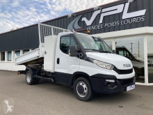 Utilitaire benne occasion Iveco Daily CCB 35C17 BENNE COFFRE