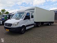 Takelwagen Mercedes Sprinter 519 DOKA + Verlhuizen 6.5m Gesloten oplegger met Laadklep - TOP! 02/2021