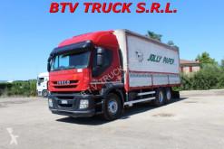 Camion cassone centinato Iveco Stralis STRALIS 360 MOTRICE CENTINATA LUNGH 7,15 EURO 5