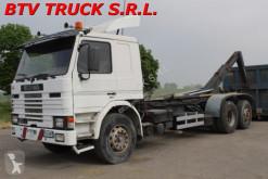 Camion Scania 82 M MOTRICE SCARRABILE CON GANCIO ITALEV polybenne occasion