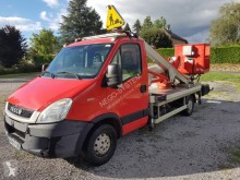 Used telescopic articulated platform commercial vehicle Iveco SMT35