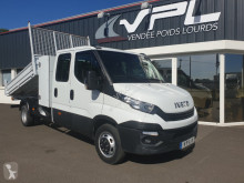 Utilitaire benne occasion Iveco Daily CCB 35C14D BENNE COFFRE DOUBLE CABINE