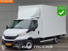 Iveco Daily 35S18 3.0 180PK Koffer mit Ladebordwand Klima Tempomat 21m3 A/C Cruise control fourgon utilitaire occasion