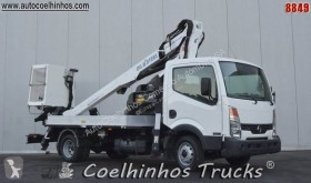 Used telescopic articulated platform commercial vehicle Nissan Cabstar