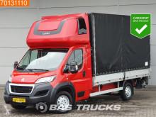Veículo utilitário comercial estrado caixa aberta Peugeot Boxer 2.0 HDI 163PS Pritsche Plane Ladebordwand Parking heater 20m3 A/C