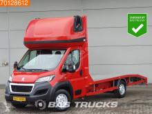 车辆运载车 二手 Peugeot Boxer 2.0 163PK Autotransporter Oprijwagen Lier Slaapcabine A/C Towbar
