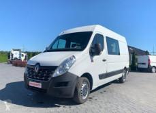 Pojazd dostawczy Renault Master 2.3 dCi // BRYGADÓWKA DUBEL KABINA 7 MIEJSC // SERWISOWANY