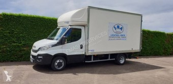 Used large volume box van Iveco Daily 35C16