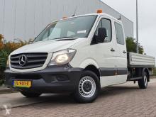 Veículo utilitário comercial estrado caixa aberta Mercedes Sprinter 313 cdi 43, dubbele cabi