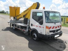 Nissan Cabstar 35.11 used telescopic platform commercial vehicle