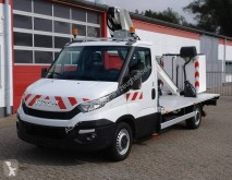 Iveco telescopic articulated platform commercial vehicle Daily Iveco Daily 35S13 Hubarbeitsbühne LT130TB