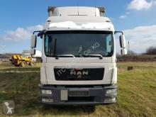 MAN tarp trailer truck TGL8.250 G.Haus/2xBett Klima AHK