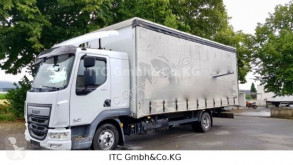 Camion DAF LF45 LF45-220PS (E6) Klima Stande. 1xBett cassone centinato usato