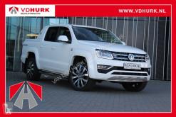 Volkswagen Amarok V6 3.0 TDI 224 pk Aventura Aut. Led/Camera/Navi/Sidebars/Leder nyttobil med flak begagnad