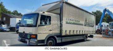 Camion cu prelata si obloane second-hand Mercedes Atego Mercedes Atego 818 Plane Spriegel