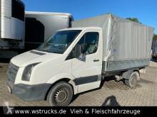 Tweedehands bestelwagen met zeilwanden Volkswagen Crafter Pritsche 35 Plane ,5 TDI Anhängerkung