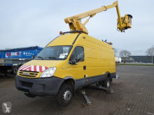 Fourgon utilitaire occasion Iveco Daily 65C18 maxi hoogwerker