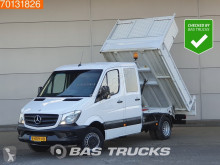 Tweedehands open bakwagen Mercedes Sprinter 513 CDI Kipper DC Kist Trekhaak Tipper Doka Double cabin Towbar Cruise control
