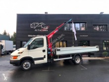 Iveco Daily 35C13 used flatbed van