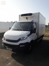 Iveco Daily 35C15 used negative trailer body refrigerated van