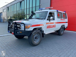 Toyota Land Cruiser (NEW) 4×4 VDJ78L 4.5 V8 Ambulance - Complete with ALS Equipment – Only for sale outside the EU ambulância nova